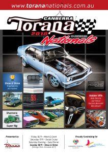 Torana Nationals 2018 Flyer