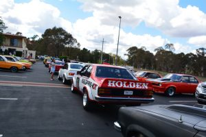 Torana Nationals Cruise to Hall