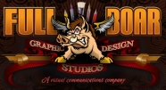 Proudly Sponsored by Full Boar Graphic Design Studios